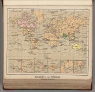 Browse All : World Atlas and Physical from 1880 - David Rumsey Historical Map Collection