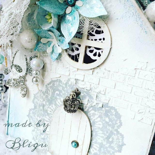 """.:baby it's cold outside  #Bligu #scrapbooking #sneakpeak #mixedmedia #craftfun #13arts #christmas  #handmade"" Photo taken by @agataaraszkiewiczbligu on Instagram, pinned via the InstaPin iOS App! http://www.instapinapp.com (12/16/2015)"