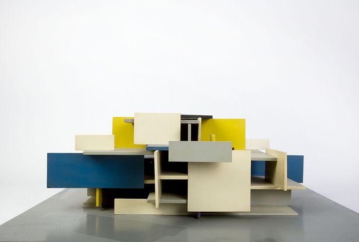 De Stijl Architerture model.