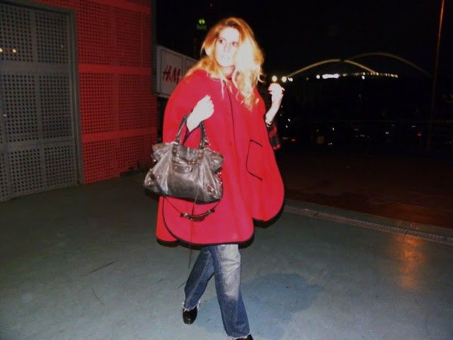 Red coat  my fave!!