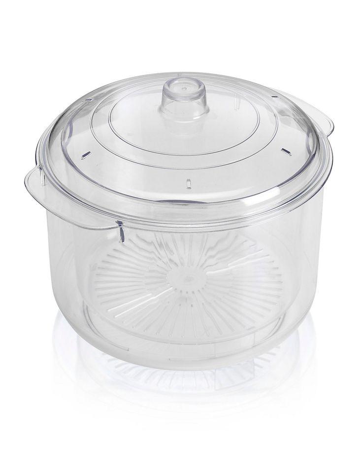 Microwaveable Steamer, MArks & sSpencer £9.50