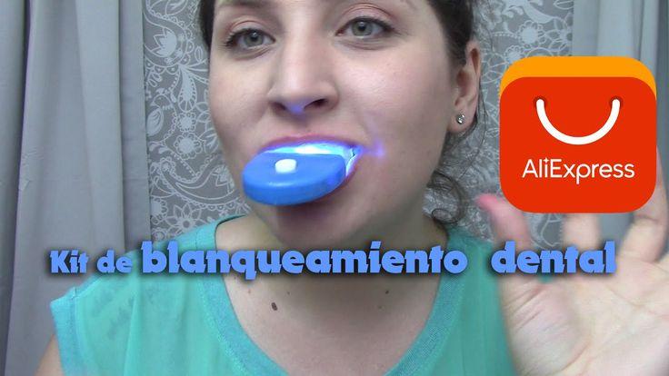 Demostración del Kit de Blanqueamiento Dental de Aliexpress - YouTube