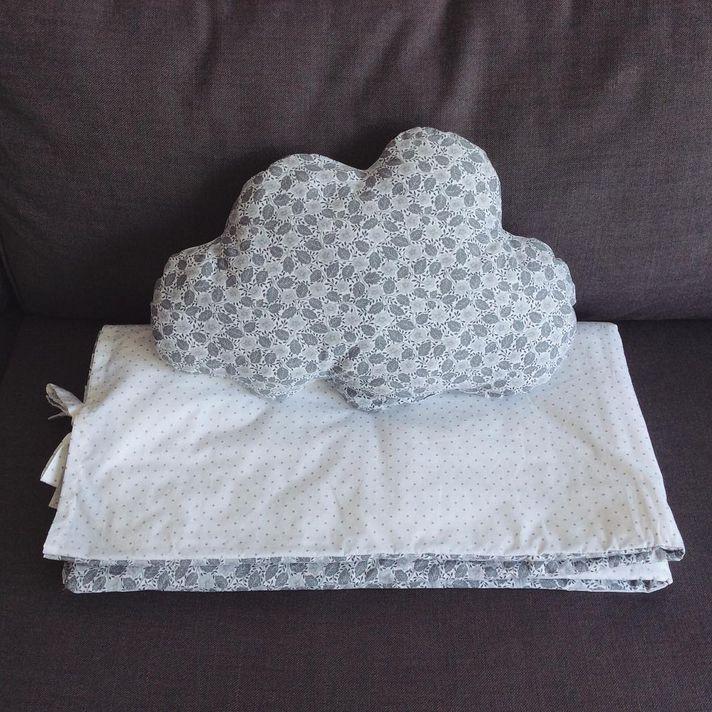 housse de couette + coussin / duvet cover  + cushion