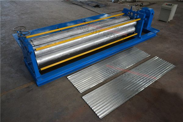 Barrel Thinner Corrugated Sheet Roll Forming