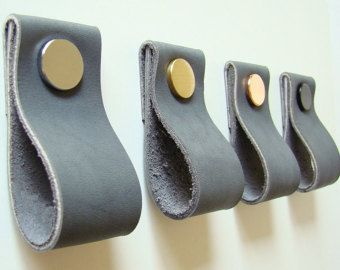 Leder Zieht Griffe Kabinett Hardware Schublade Schrank Griff Upgrade IKEA Von Rowzec