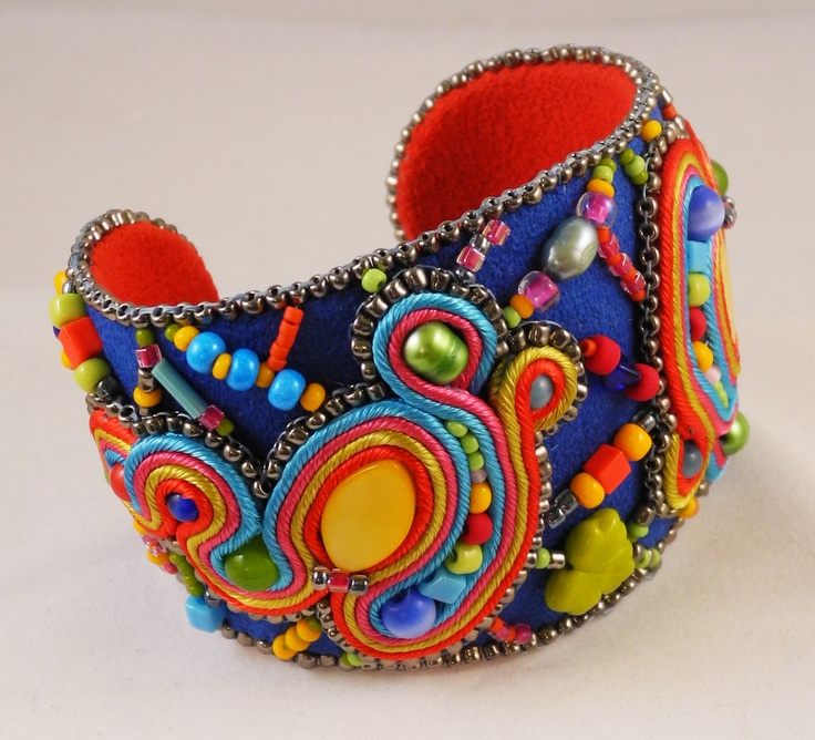 """Large cuff from my 2012 """"Mirth"""" collection"""