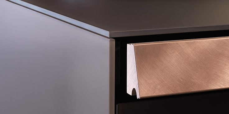 A drawer inspired by antique desks: it is a secret, intimate space, designed to conceal personal objects and memories