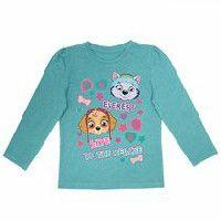 T-shirt à manches longues La Pat' Patrouille pour filles 4T