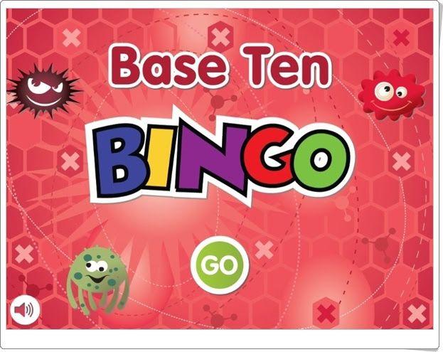"""""""Base Ten Bingo"""" (Sistema Numérico Decimal de Educación Primaria)"""