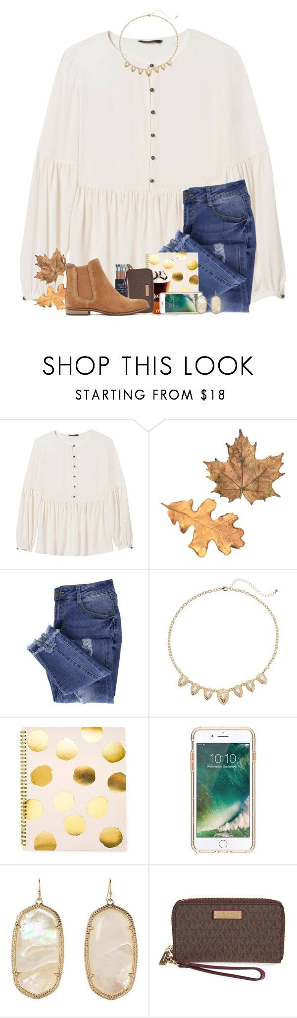 """its still so warm in VA "" by jeh-shev ❤ liked on Polyvore featuring Banana Republic, Essie, Mudd, Sugar Paper, Griffin, Kendra Scott, Michael Kors and Superdry"