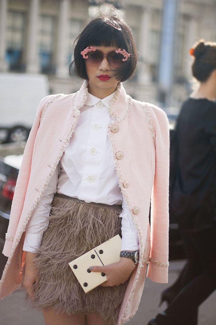 Fotos de street style en Paris Fashion Week