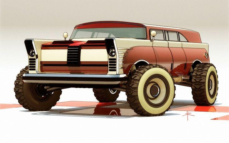 Die 300+ besten Bilder zu Auto Art 0\' Sorts II von Mel\' Harris auf ...