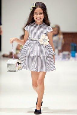 Vestidos de Niñas y Ropa para Niños: Moderna ropa para niñas y niños de Foque primavera verano 2014-2015