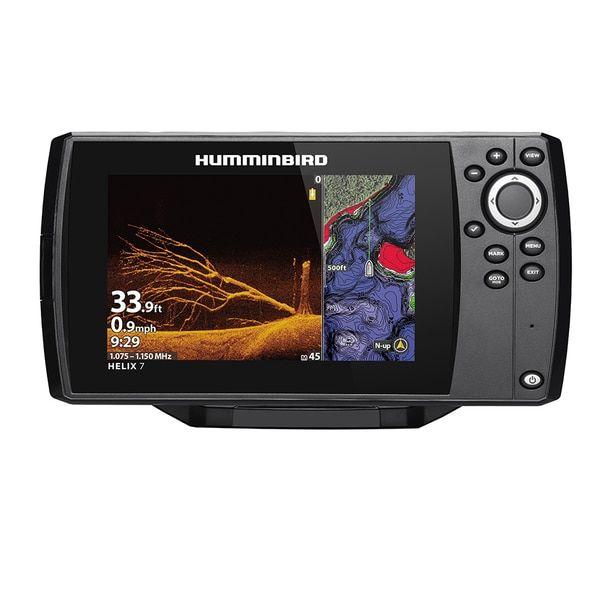 Humminbird Helix 7 Chirp Mega Di Fishfinder Gps Combo G3n Display Only 411070 1cho Humminbird Transducer Fish Finder
