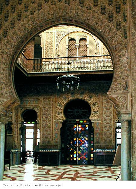 Interior Casino de Murcia Spain