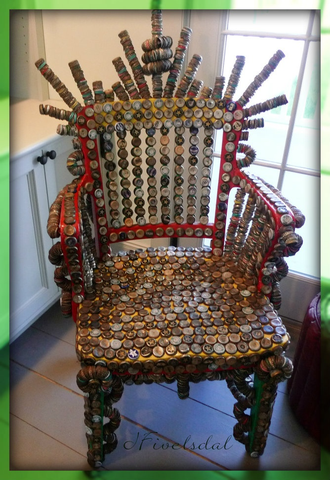 bottle cap furniture. bottle cap chair furniture i