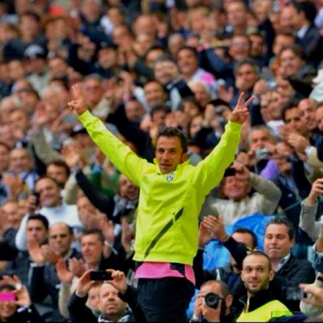 Saluto di Del Piero allo Juventus stadium....