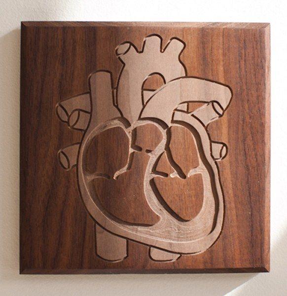 Heart - Walnut