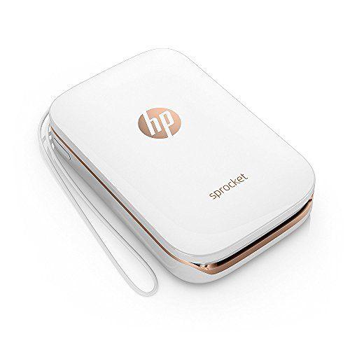HP Sprocket Portable Photo Printer, X7N07A, Print Social Media Photos on 2x3 Sticky-Backed Paper - White #Sprocket #Portable #Photo #Printer, #XNA, #Print #Social #Media #Photos #Sticky #Backed #Paper #White