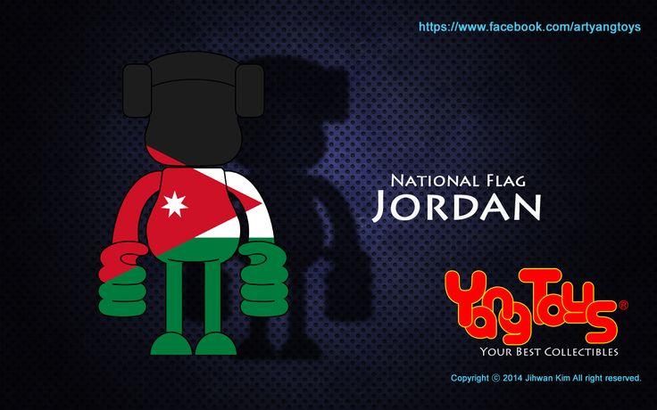 National Flags - Jordan