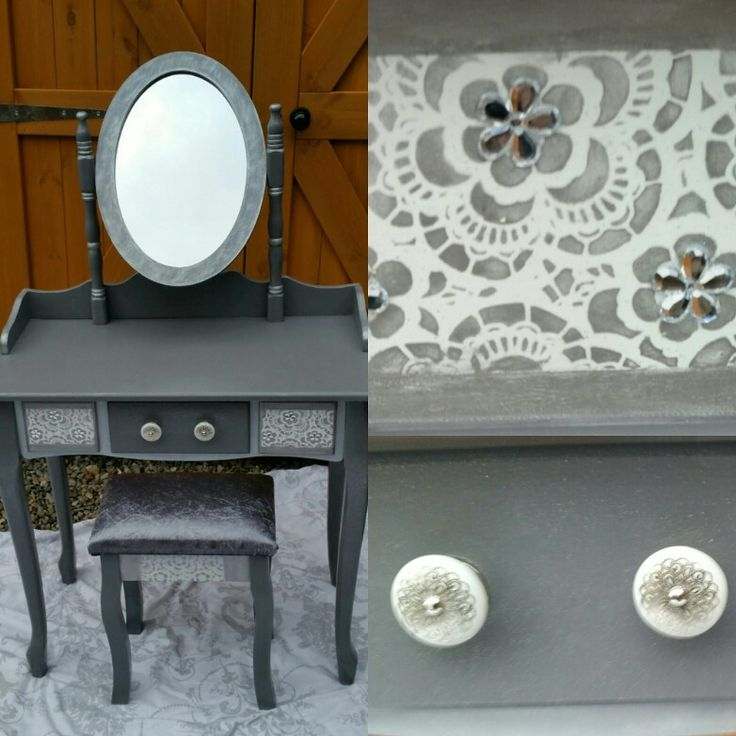 Upcycled dressing table .