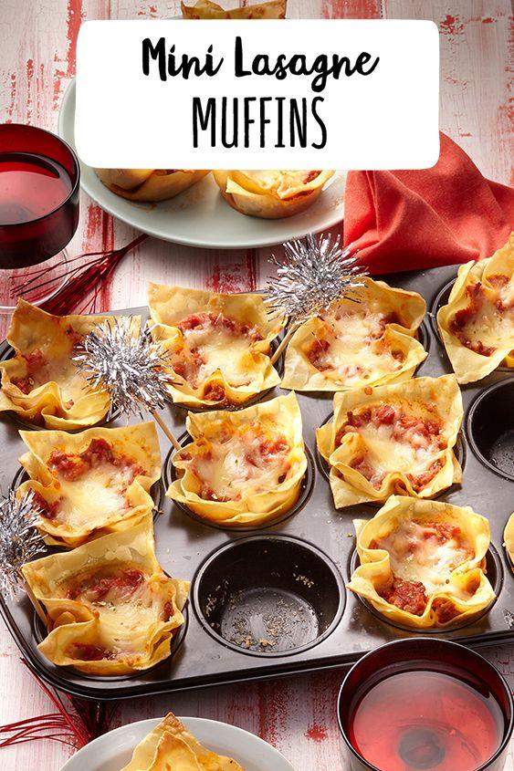 Mini Lasagne Muffins  – REWE