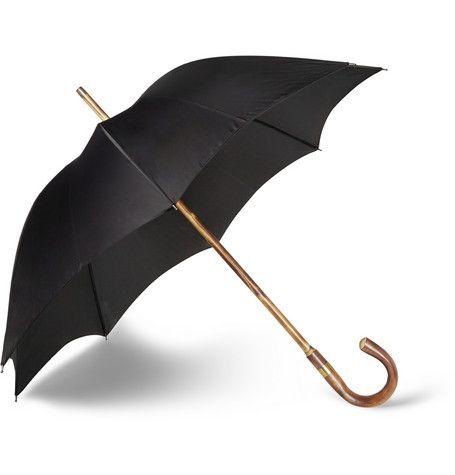 Kingsman - Swaine Adeney Brigg Chestnut Wood-Handle Umbrella|MR PORTER