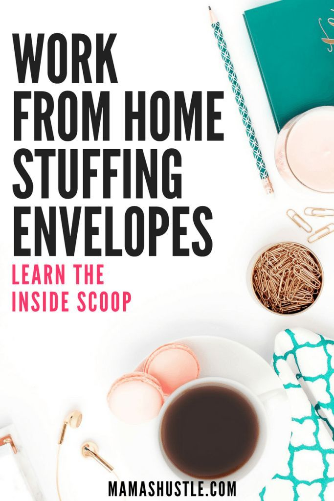 Work from home stuffing envelopes