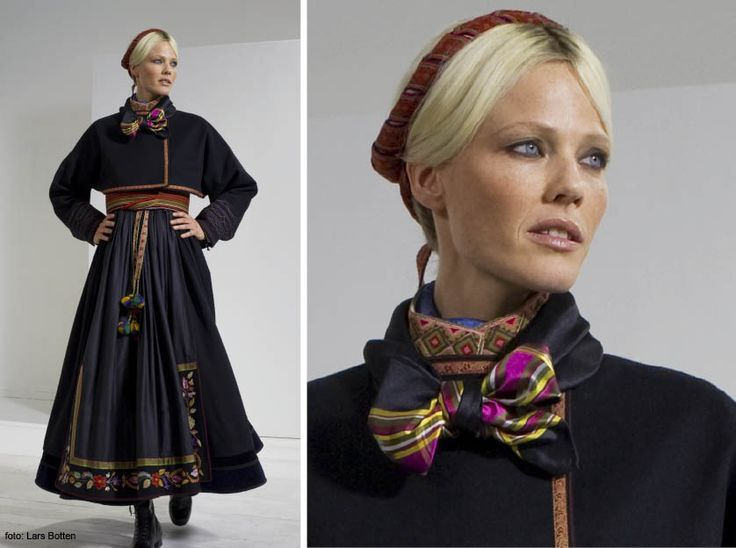 West Telemark Bunad all hand embroidered, made in Norway, cost in US dollars $5,000 clothing only