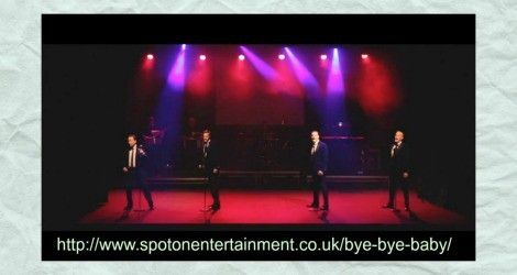Bye Bye Baby is a musical journey through the career of Frankie Valli & The Four Seasons, with songs from films such as Grease
