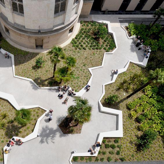 Bigoni Mortemard : Médiathèque Françoise Sagan - ArchiDesignClub by MUUUZ - Architecture & Design