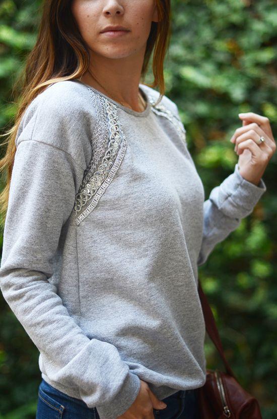 REDE PORTAIS - O PORTAL DO VETOR DO NORTE b92ea984979542bce28a4154fa658d32--lace-sweater-lace-sweatshirt Moletom feminino: veja como usar essa peça descolada e estilosa MODA & BELEZA