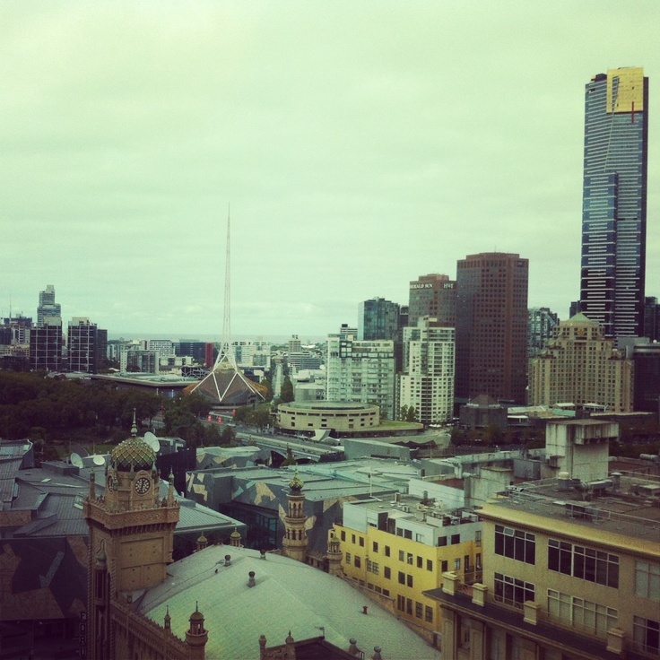 A view from our room at Grand Hyatt Melbourne | 30/03/2013