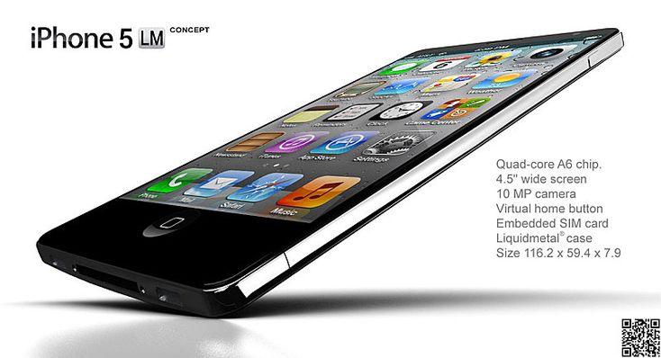[Konzept] iPhone 5 LM Liquid Metal