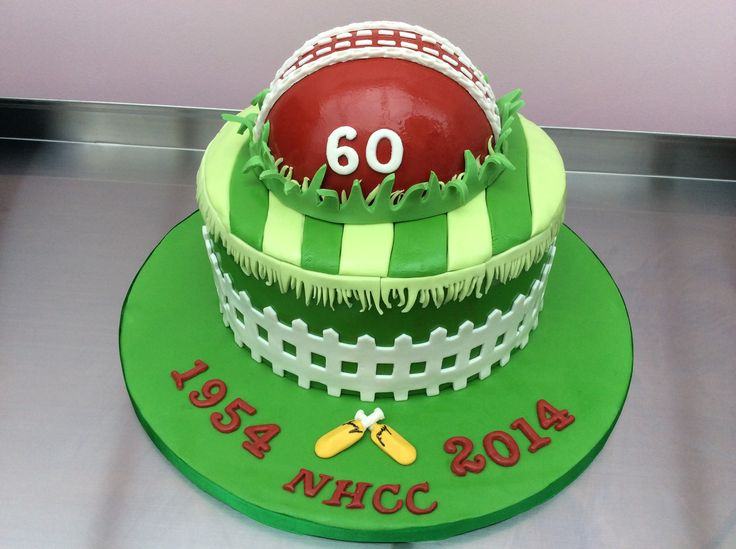 Cricket Cake - Contact Hyderabad Cupcakes to order!