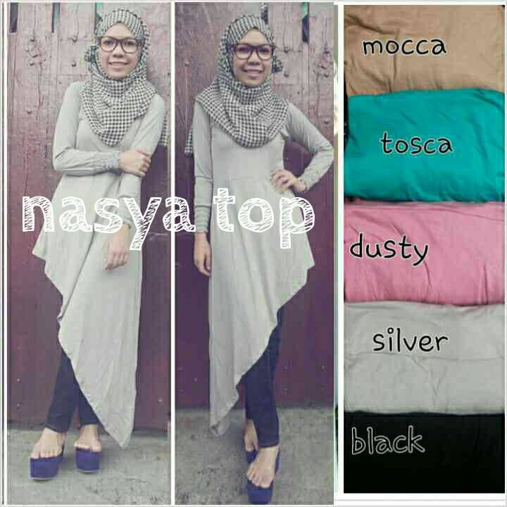 QUEEN TOP IDR 90 material : kaos rayon, fit XL  fast respon 0857 2930 2137