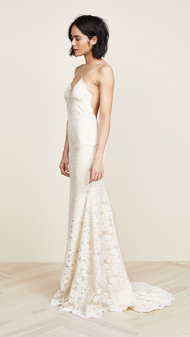 Low-Back Gowns