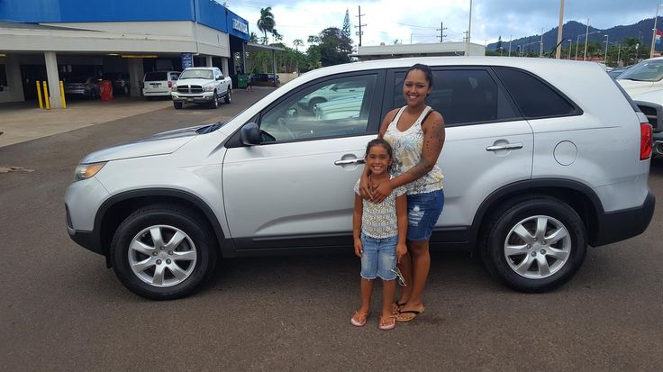 MAIAH's new 2011 KIA SORENTO! Congratulations and best wishes from King Auto Center and John Borales.