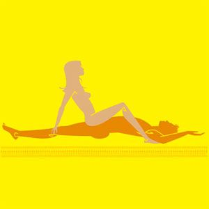 Dutch oven sex position