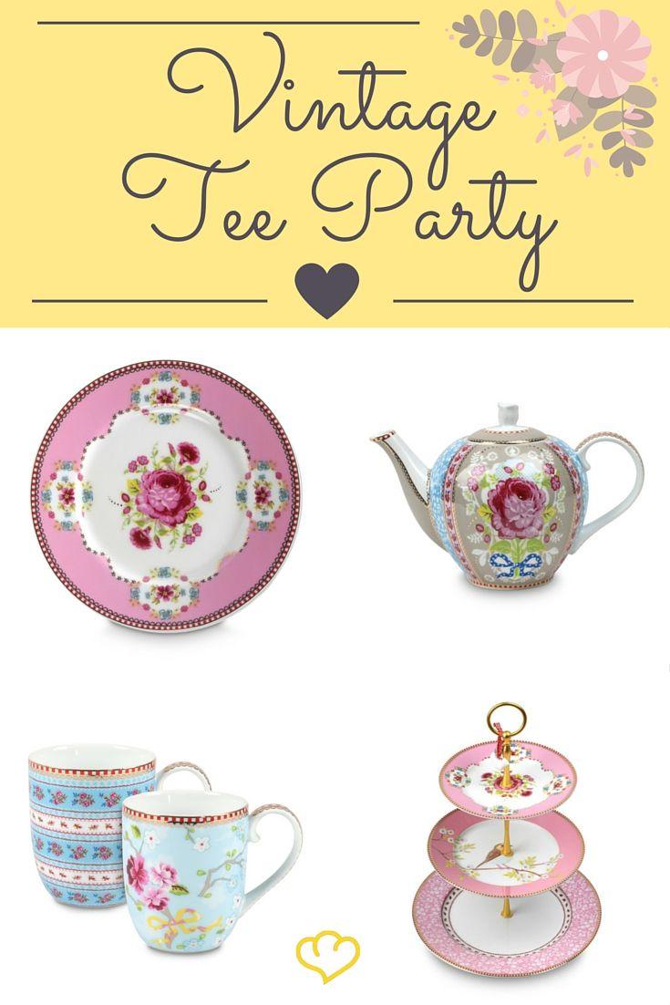 Bei Pip Studio findest du alles was du für deine feine englische Tee-Party brauchst!