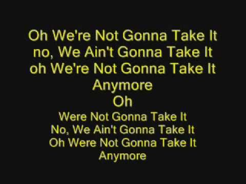 Lyrics to here comes the boom