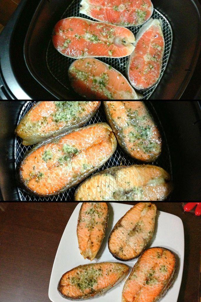 salmon airfried