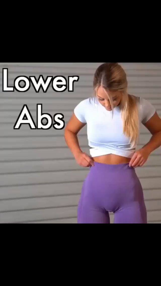 Lower Abs workout🔥