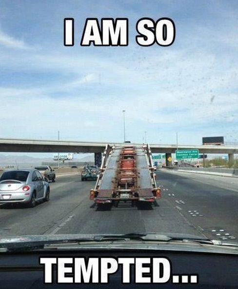 Everyone has had the same thought, right? Hit the image for '15 of the Funniest Car Memes' #GTA #spon