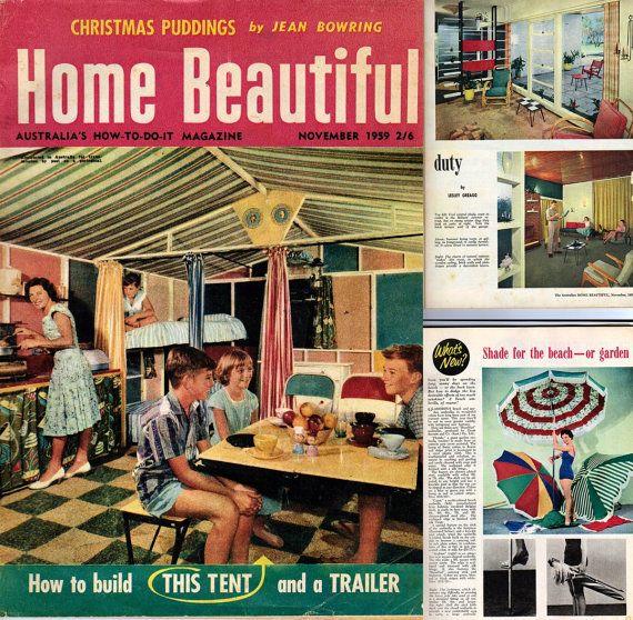 Vintage Magazine, Australian Home Beautiful, Nov 1959