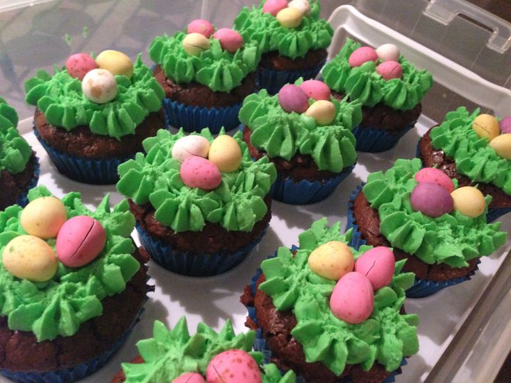 Easter cupcakes (gluten free)