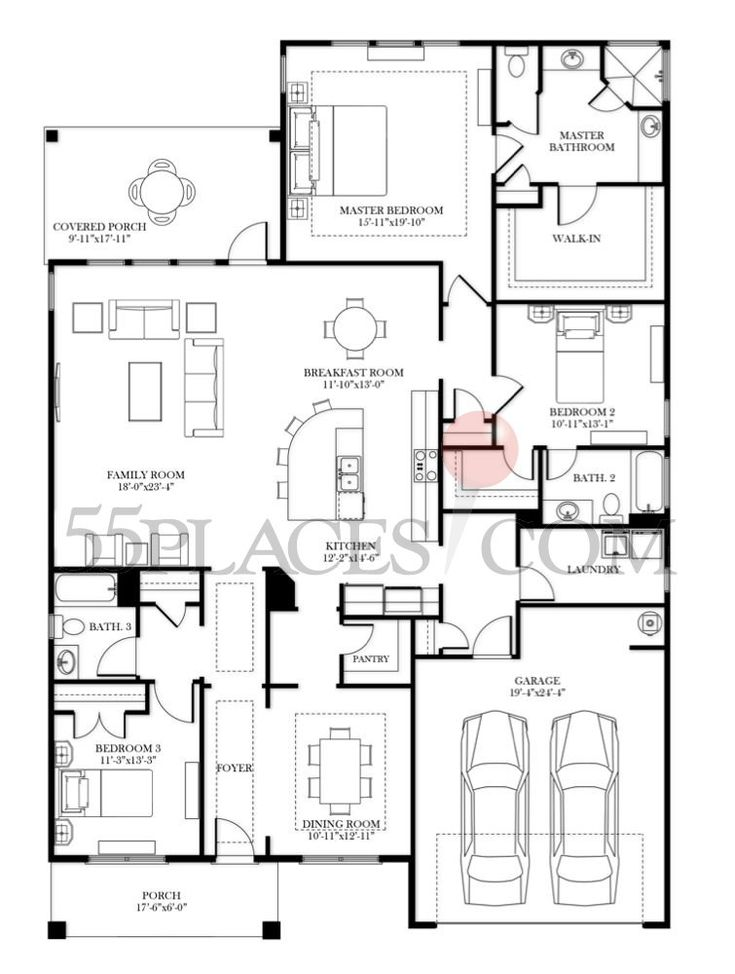 Preston 2 floor plan nelson homes for Nelson home plans