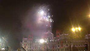 Fireworks. Cabalgata Reyes Madrid 2014