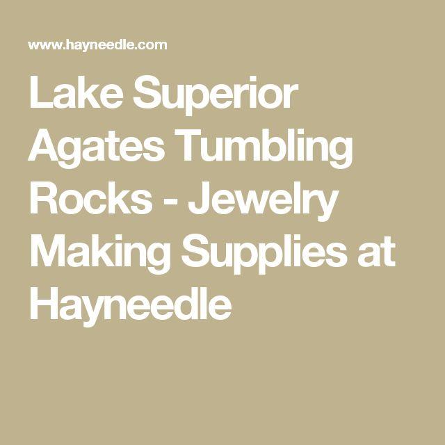 Lake Superior Agates Tumbling Rocks - Jewelry Making Supplies at Hayneedle