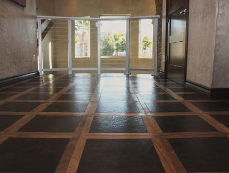 30 Best Flooring Leather Painted Or Stained Concrete